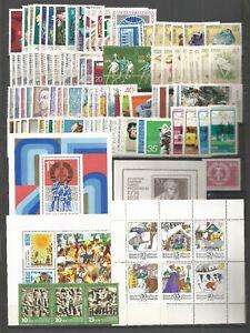 DDR-1974-Postfrisch-kompletter-Jahrgang