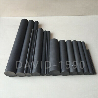 3Pcs//Lot 99.9/% Carbon Rod Graphite Rods Welding Electrode Cylinder Rod Bar FR