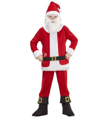WIM 08765 Weihnachten Kinder Kostüm Weihnachtsmann Nikolaus Santa Claus X-Mas