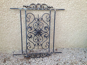 grille pour fenetres fer forge ebay
