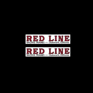 Redline for STEEL FORK Chatsworth Fork decals