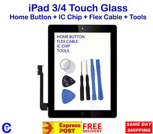 iPad-3-4-touch-glass-with-home-button-White-and-Black