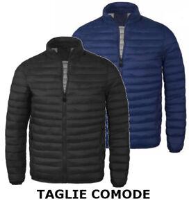 premium selection 87bff 74ff4 Dettagli su Piumino uomo giacca giubbino 100 grammi TAGLIA FORTE COMODO 50  52 54 56 58