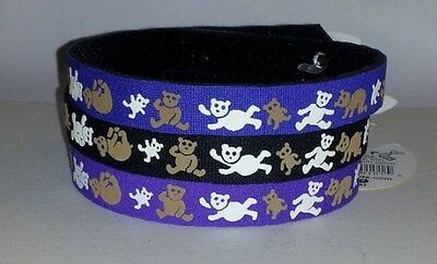 Beastie Band Cat Collars =^..^= Purrfectly Comfy KILLER SHARKS