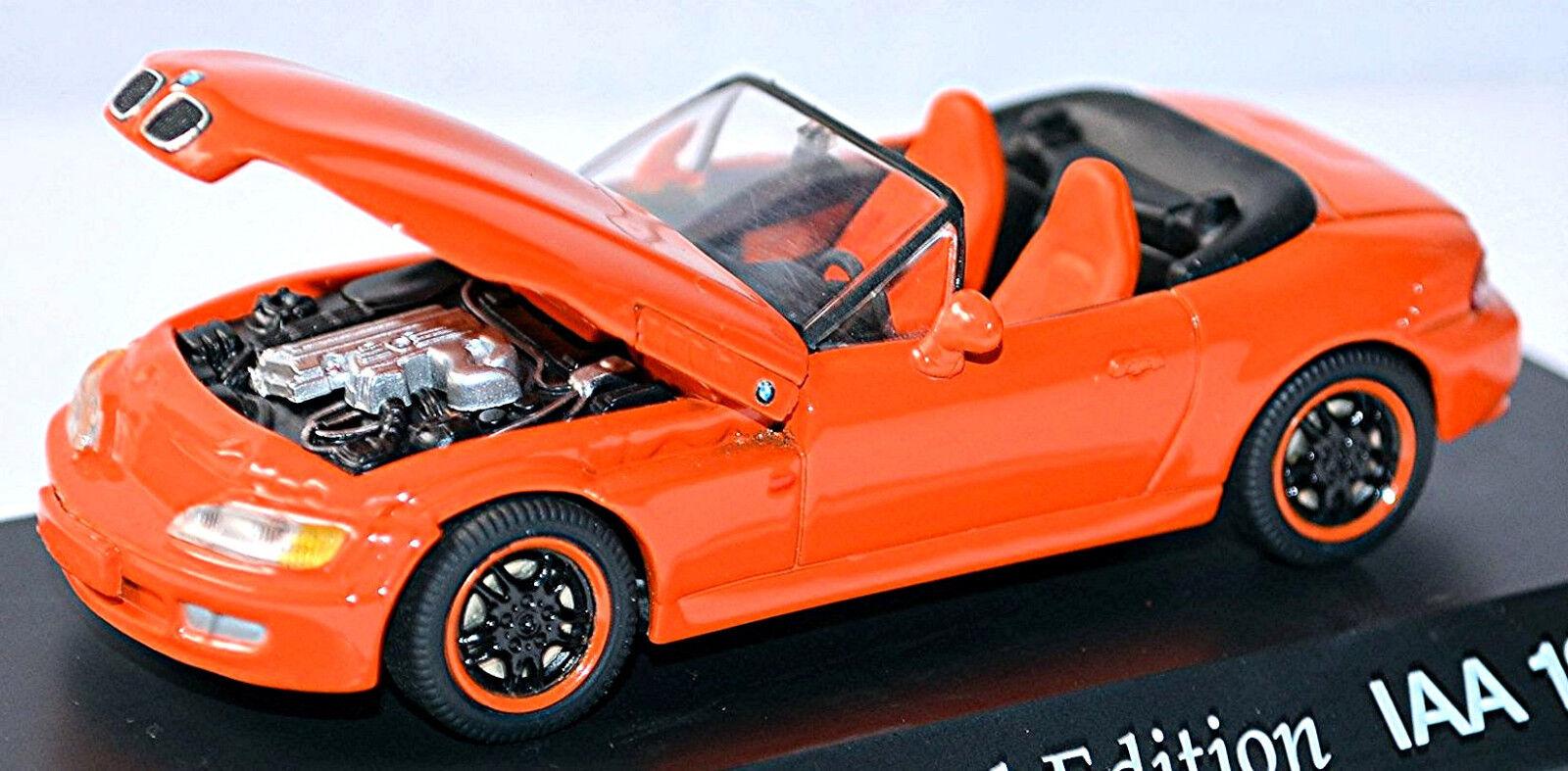 BMW Z 3 Cabriolet 1995-99 orange Special Model IAA 1997 1 43 Schuco