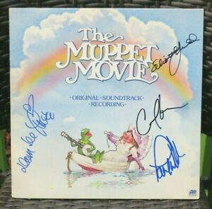 034-The-Muppet-Movie-034-S-T-LP-signed-by-E-Gould-D-Deluise-C-Kane-amp-P-Williams