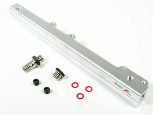 Silver Aluminum Fuel Rail For Honda 96-00 Civic DX//CX//LXEX D16Y SOHC By OBX