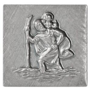 HR-10210801-Plakette-Heiliger-St-Christophorus-Schutzpatron-selbstklebend