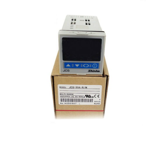 1PC JCS-33A-R//M SHINKO Thermostat Digital Display Temperature Controller