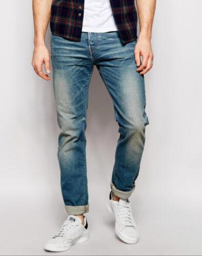 Jeans 80 L32 Gamba Affusolata Sottile Compatto Edwin Luce Ed Sonic Cs W30 rUxqArwO