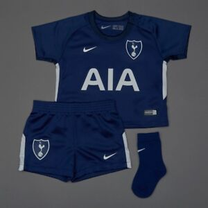 wholesale dealer 45a58 7786f Details about 2018/2019 Tottenham Hotspur Spurts Infant Toddlers Away Mini  Football Kit