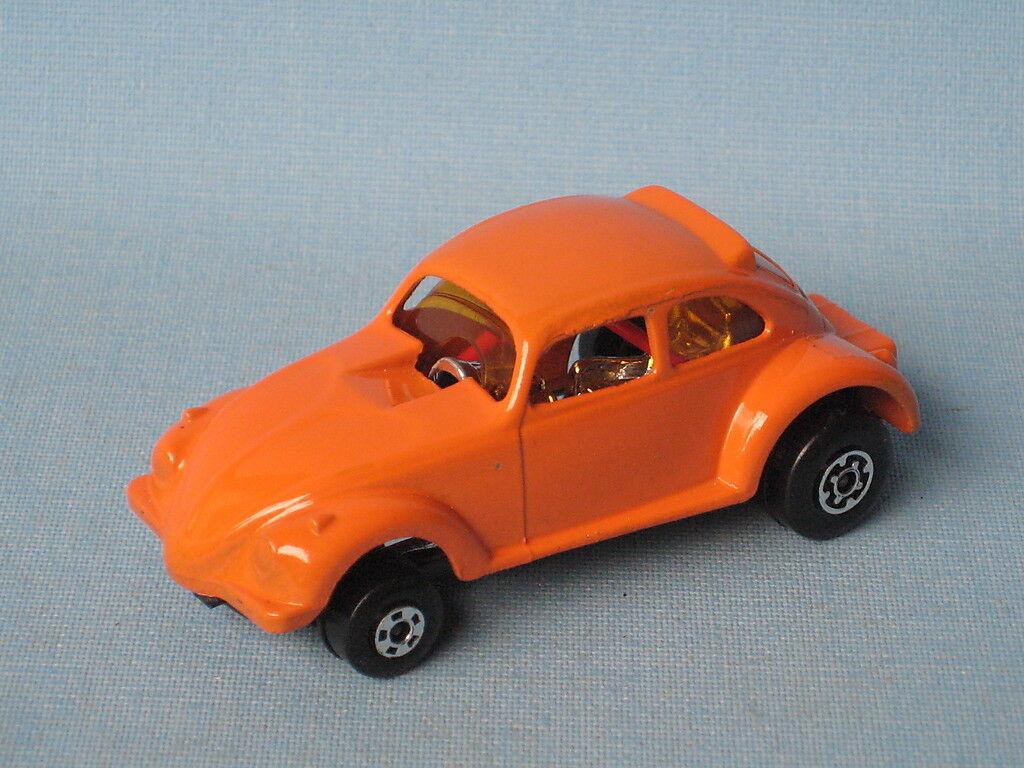 Lesney Matchbox Vw Dragon Wheels Cuerpo Naranja pre-producción Rara Prueba