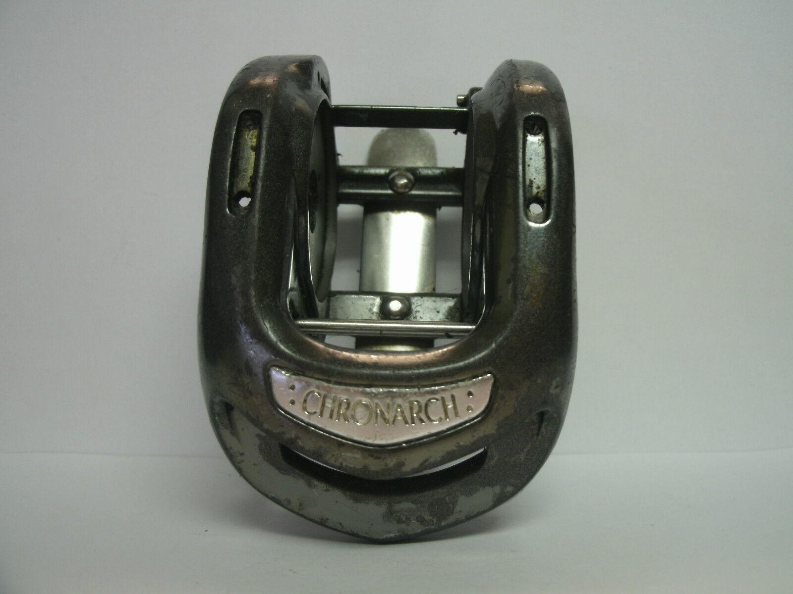 Utilizado Shimano Baitcasting Reel parte-Chronarch Ch  100 B-marco Asamblea-Lote 1  clásico atemporal