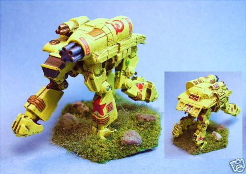 Battletech painted Goliath battlemech RI