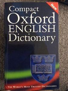 Compact Oxford English Dictionary Of Current English Par Oxford University Press-afficher Le Titre D'origine