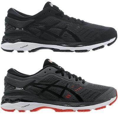 Asics GEL Kayano 24 schwarz grau Herren Laufschuhe Running Fitness Sport NEU