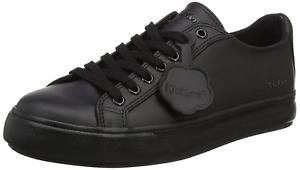 Kickers Unisex Adults/' Tovni Lacer Trainers Black Black 3 UK 36 EU