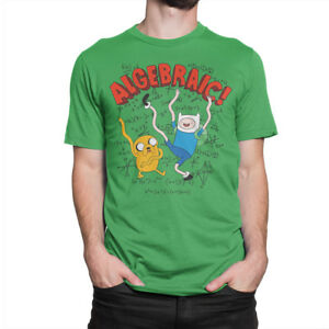Adventure-Time-Tee-Algebraic-T-shirt-Men-039-s-Women-039-s-All-Sizes