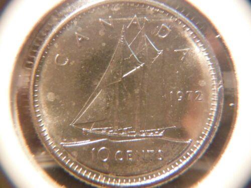 1972 Ten Cents *** Brilliant /& Uncirculated