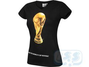 DWCR47w  FIFA World Cup Russia 2018 official Ladies t-shirt cotton ... 743cfac598