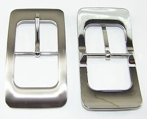 Gürtelschnallen 1 Schließe Gürtelschnalle Schnalle 4,0 Cm Silber 00.093/681