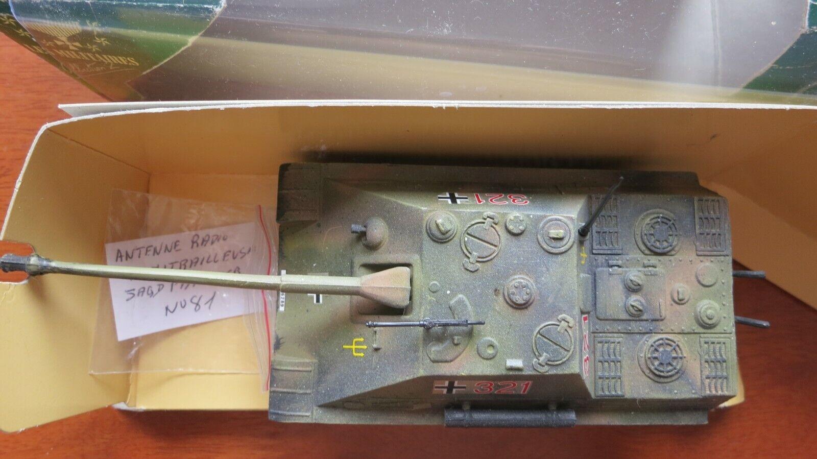 Jagdpanther Panzer German Tank 1 50 Solido Verem Collection Les Militaires
