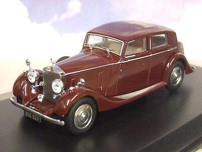 Thrupp /& Maberley Burgundy 43R25001 Oxford Diecast O Gauge Rolls Royce 25//30