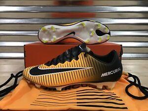 4c72f12a1 Nike Mercurial Vapor XI 11 FG Soccer Cleats Laser Orange Black SZ ...