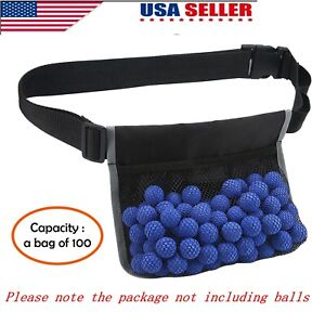 For-Nerf-Rival-Apollo-Adjustable-Tactical-Waist-Bag-Bullet-Ball-Storage-Magazine