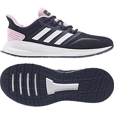 Adidas Femme Chaussures Course Runfalcon Entraînement Blanc Baskets Mode EF0152 | eBay