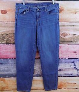 Aeropostale-Women-039-s-Size-12-Reg-Normal-Cotton-Blend-Medium-Wash-Blue-Jeans