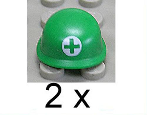 Helm grün // Helme // 87998pb01 NEUWARE 2 x Sanitäts Soldaten LEGO Toy Story