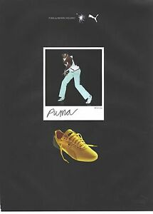PUBLICITE ADVERTISING 2003  PUMA chaussures baskets by Mihara YASUHIRO