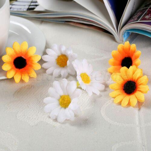Cute Gerbera Daisy Flowers Heads DIY Lovely Party Wedding Decorative Realistic