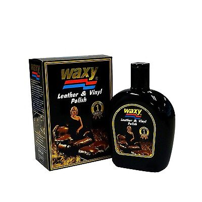 Waxy Cleaner Care Leather Vinyl Polish Cars Tyre Fiber