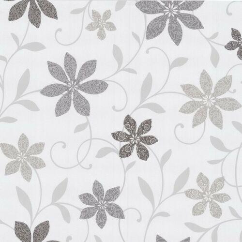Wish Tapeten 05619-50 0561950 Tapete Blumen weiß hell grau braun 1,54€//1qm