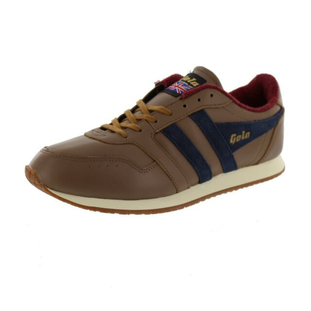 Gola Track 1905 1905 1905 Made in England Schuhes Classic Sneaker Taupe Navy 8e104b