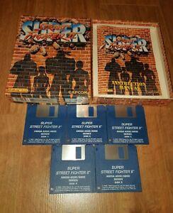 100% Vrai Super Street Fighter Ii 2 * Très Bon état * Jeu Pour Commodore Amiga Capcom/us Gold-afficher Le Titre D'origine