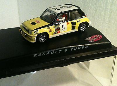 Spielzeug andrie Fancy Colours Qq Spirit Renault 5 Turbo R Montecarlo '81 # 9 Ragnottti Kinderrennbahnen