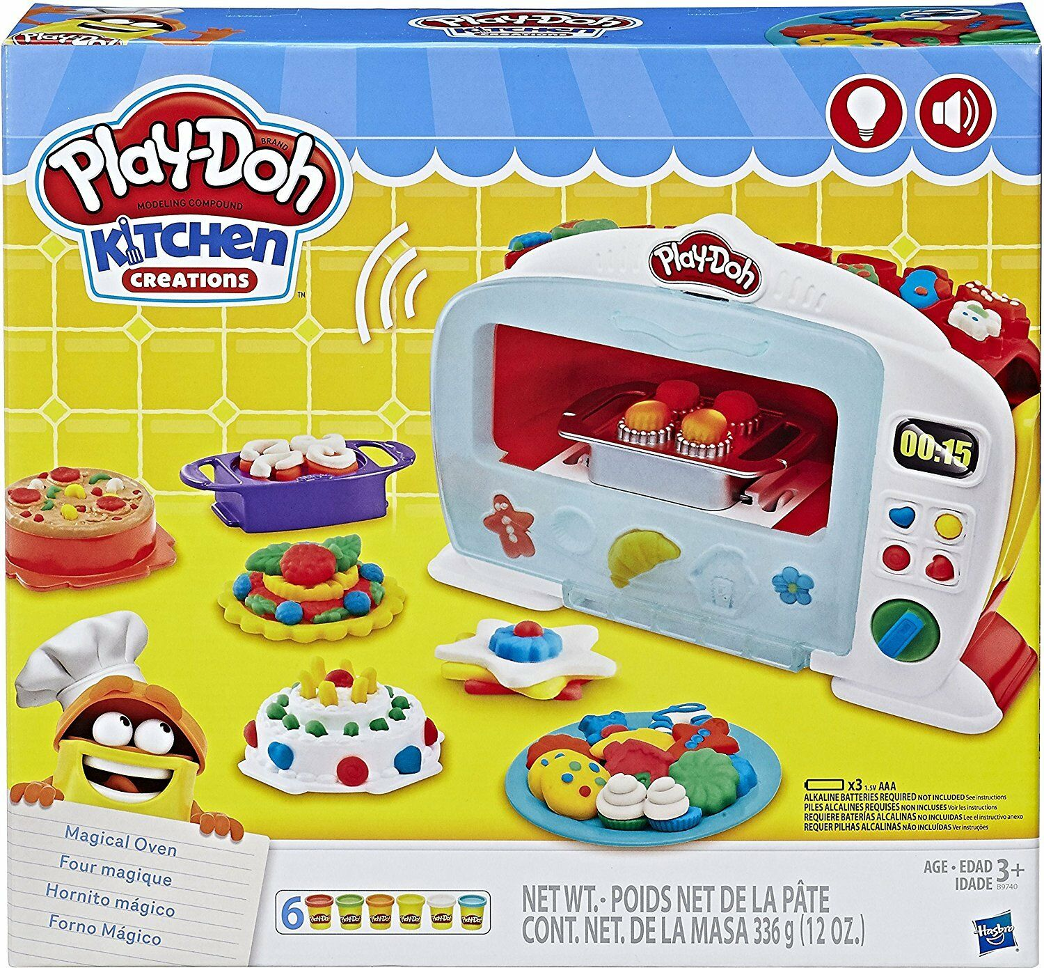 Play-Doh Kitchen Kitchen Kitchen Creations Magical Oven Set 396bb3