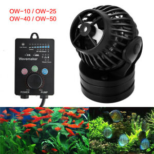Jebao Aquarium Reef Wave Maker Pump With Controller Powerhead Ow-10 Ow-25 Ow-40 Pumps (water)