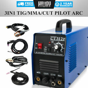Details About Pilot Arc 3 In 1 Tig Mma Cut Air Plasma Cutter Welding Welder Cnc Compatible Diy