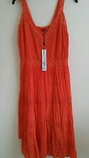ROMAN shirred panel dress. Size 14. BNWT.