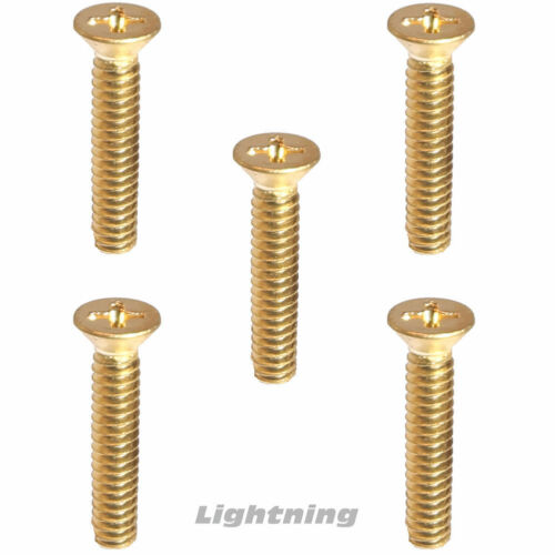 "10-24 x 1//2/"" Solid Brass Machine Screws Flat Head Phillips Drive Quantity 50"