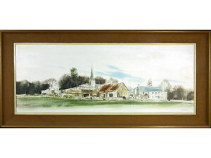 Michael-Barnfather-At-Trellech-Wales-039-Oil-on-Canvas-Listed-Artist-Welsh