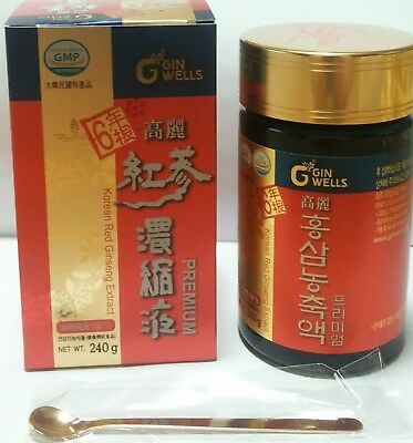 Korean 6Years Root Red ginseng Extract Premium 240g( Rg1+Rb1+Rg3 =6mg/g )  ILHWA 8801223006327 | eBay