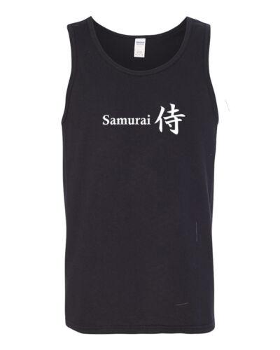 Samurai Japanese Fighting Martial Art Combat Tank Top