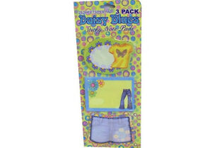 3-x-Daisy-Blues-Sticky-Note-Pads-Girls-Party-Bags-Stocking-Fillers