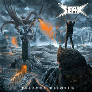 SEAX-Fallout-Rituals-CD-10-tracks-FACTORY-SEALED-NEW-2019-Shadow-Kingdom-USA