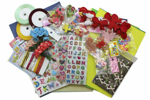 Assorted Card Making Craft Kits Scrapbooking Project Embellishments Xmas Gift